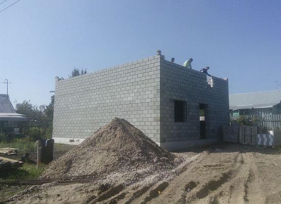 Фундамент для дома из блоков