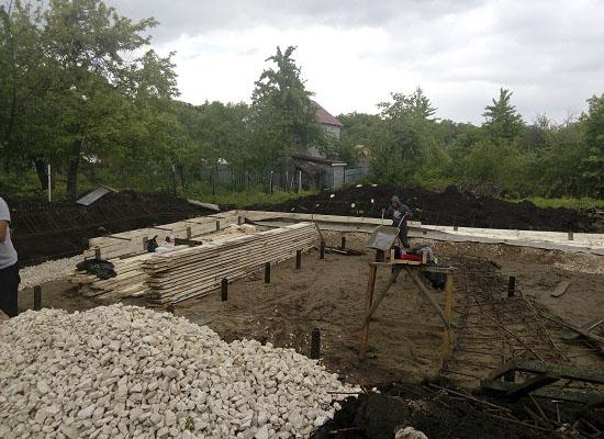 Фундамент при грунтовых водах